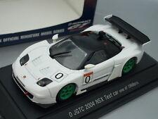 1/43 Ebbro HONDA NSX #0 TEST CAR JGTC 2004 (WHITE)