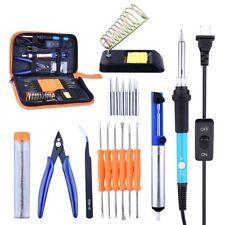 17Pcs Soldering Iron Kit Electronics 60W Adjustable Temperature Welding Tool Kit