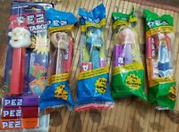 VINTAGE PEZ LOT OF 5 SANTA Target V Pack  Gonzo, Taz, Yosemite Sam & Miss Piggy