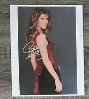 Celine Dion Autographed Signed 8x10 Photo *damaged* See Photo