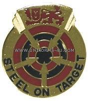 ARMY 23RD AIR DEFENSE ARTILLERY GROUP UNIT CREST