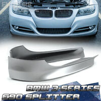SHIP FROM LA PAINTED FOR BMW E90 3 SERIES LCI FRONT BUMPER LIP SPLITTER #475