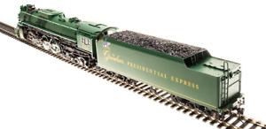 Broadway Ltd Brass Hybrid GREENBRIAR PRESIDENTIAL EXPRESS 4-8-4 DCC/Sound/SMOKE