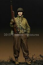 Alpine Miniatures 1:35 WWII US Infantry - Resin Figure #35202