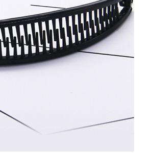 Hair Ponytail Holder Banana Clips Plastic Black Claw Comb Clip Multip v0q4f3h