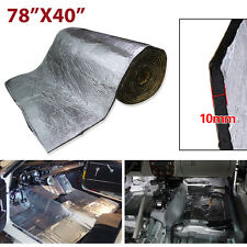 "78""X40"" Car Heat Sound Proofing Carpet Mat Floor Trunk Noise Insulation Deadener"