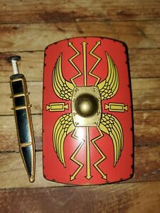 """Roman Soldier Shield and Sword Accessories for 12/"""" Action Figure 1:6 scale"""