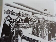 1930 Opening of George Washington Bridge Roosevelt NYC 8x10 Modern Reprint photo