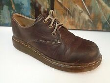 Dr. Martens Doc Oxford Shoes Leather Lace Up Taupe brown Size 6 US / 5 UK