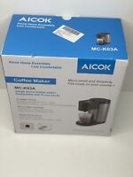 Aicok Single Serve Coffee Maker Cup K Pods  Stainless Compatible with most Pods