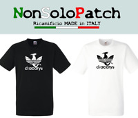 T-SHIRT IL TRONO DI SPADE NOT TODAY Arya Stark GAME OF THRONES Adidas Dracarys