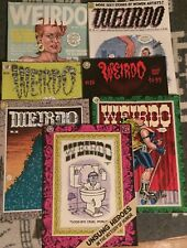 7 Weirdo magazines Robert Crumb Spain Last Gasp comix underground comics lot