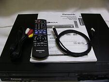 "Panasonic DMR-EZ485, ""MINT"", VHS/DVD Dubbing Recorder w/Digital Tuners"