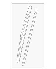 Genuine GM Wiper Blade 93441742