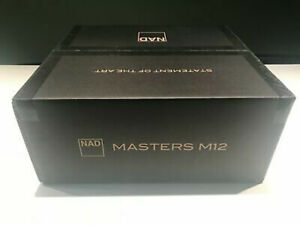 BrandNEWSealed NAD M12 Masters Series Direct Digital stereo preamp/DAC