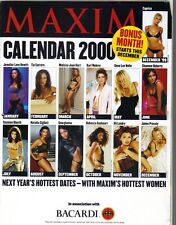 Maxim Calendar Supplement 2000 JENNIFER LOVE HEWITT CAPRICE SHANNEN DOHERTY