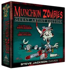 Munchkin Zombies Guest Artist Greg Hyland Board Card Game Steve Jackson SJG 1520