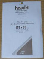 HAWID SCHAUFIX Block MOUNTS BLACK Pack of 10 165mm x 99mm - Ref. No.1232