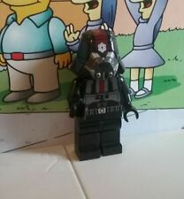 Star Wars lego mini figure BLACK SITH TROOPER plain legs 9500