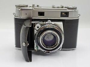 Kodak Retina IIIc 35mm Film Rangefinder Camera Schneider Xenon C 50mm F2.8 Lens