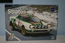 Lancia Stratos HF Monte Carlo 1977 S.Munari Italeri 1:24 Model Kit