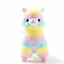 "5"" Rainbow Alpacasso Kawaii Alpaca Llama Arpakasso Soft Plush Toy Doll Cute UK"