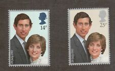Great Britain 950 - 951 - Royal Wedding. Set Of 2 Mnh. Og. #02 Gb950s2