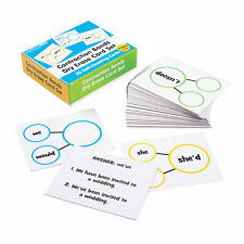 Contraction Bonds Dry Erase Cards - Educational - 51 Pieces