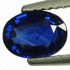 0.94Ct  Mind Blowing Natural Blue Saphire Fine Gem !VDO!