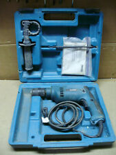 Makita Hp1621f 12 Keyless Chuck Corded Electric Hammer Drill With Case