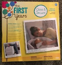The First Years Close And Secure Sleeper Newborn Baby Carry Bed Free Shipping