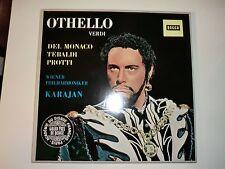 Othello , Verdi ,Karajan , Decca SXL 20031/33