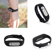 Rechargeable Digital Voice Audio Sound Recorder Wearable Wristband Bracelet 4GB