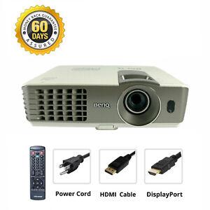DisplayPort to HDMI Bundle - Benq MX710 3D DLP Projector 2700 ANSI 1080p Cinema