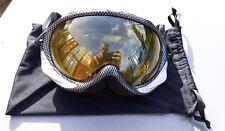 Adult Apex performance ski goggles yellow lens