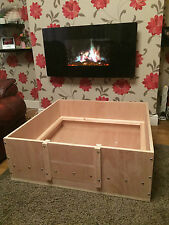 "whelping box 42"" x 42""--105 cm x 105 cm whelping box free postage or delivery"