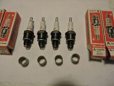 4 Bougies SEV  Marchal GT 34D double électrode (Citroen)