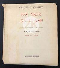 LES YEUX DE L'ÂME Photographie Poésie IZIS Bidermanas CHARLET Livre 1949