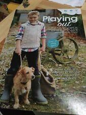 BOY'S TANK TOP Knitting Pattern-Design Zig-Zag, Taglia 2 - 13 anni