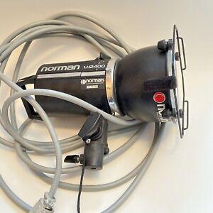 "Norman LH2400 w/s flash strobe head 5"" Reflector Gel Holder Tube Protector OFFER"