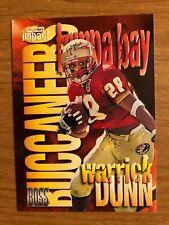 1997 Skybox Impact Boss Warrick Dunn RC Florida State Tampa Bay