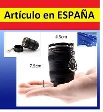 TAZA chupito forma OBJETIVO DE CAMARA reflex canon llavero cafe agua EF 24-105mm