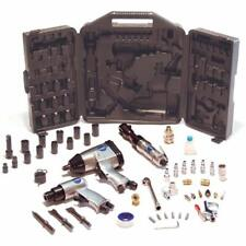 Atk1000 Air Tool Kit With Impact, Ratchet, Chisel, Blow Gun, And Other 50-Piece