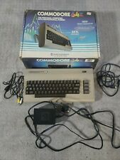 Vintage Commodore 64 Personal Computer System  - with original box and PS