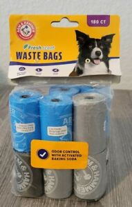 Arm And Hammer Disposable Dog Waste Bag Refills Assorted Colors 180