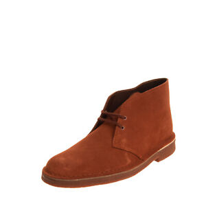 RRP €115 CLARKS Leather Chukka Boots Size 40 UK 6.5 US 7.5 Crepe Sole Lace Up