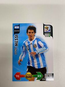 LIONEL MESSI WORLD CUP 2010 PANINI ADRENALYN XL CARD RARE