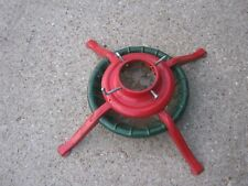"Original Vintage Large Metal Christmas Tree Stand 27"" diameter"