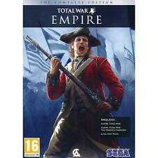 Empire Total War Complete Edition (PC DVD/MAC) BRAND NEW SEALED COMPLETE EMPIRE