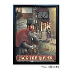 JACK THE RIPPER PUB SIGN POSTER PRINT | Home Bar | Man Cave | Pub Memorabilia
